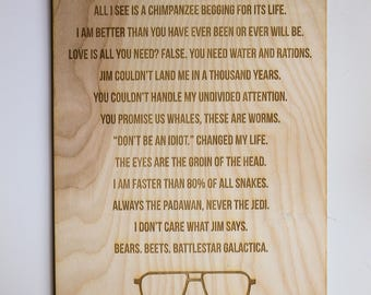Dwight Schrute Wall Art