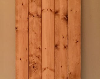 Electrical Panel Cover / Breaker Box Cover - Flush Mount / Decorative Window Shutters / Rustic Wood Wall Decor / Photography Backdrop