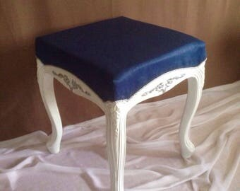 the Ottoman in the style of Provence,country. Handmade