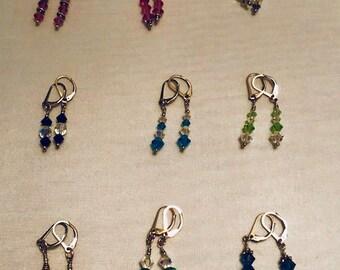 Swarovski Earring Dangles