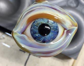 Realistic Glass Eye Pendant