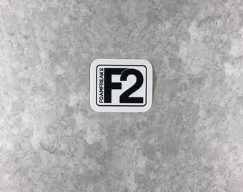 Foam Freaks Sticker