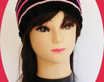 Trendy crochet faux dreads beanie
