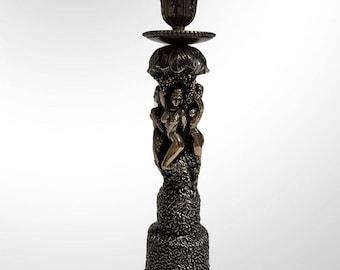 "Bronze candlestick ""Amphora"""