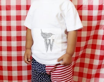 4th of July American Flag Shorts