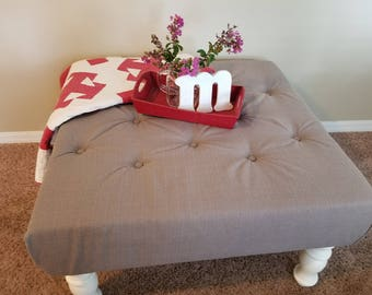 Re{new}ed Tufted Ottoman
