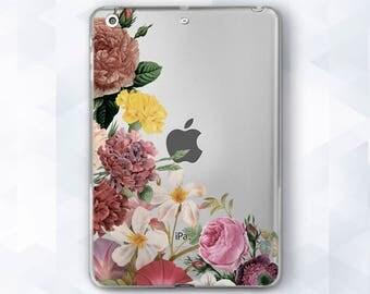Floral Case iPad Air Floral iPad Pro 9.7 iPad Mini Floral iPad Mini 2 iPad Air Case iPad Pro iPad Pro Case Clear Clear Case Floral Hard Case