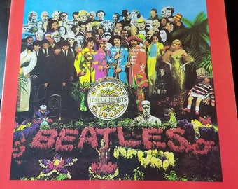 The Beatles Sgt. Peppers Lonely Hearts Club Band Sheet Music Book
