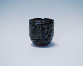 Handmade ceramic plant pot