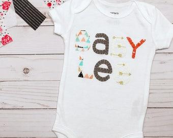 Custom Onesie | Custom Romper | Custom Baby Romper | Gender Neutral Onesie | Gender Neutral Bodysuit | Personalized Baby Clothes|Name Onesie