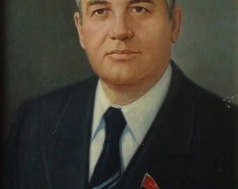 Gorbachov (art of the USSR) 1980