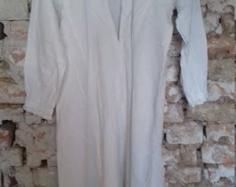 Vintage Bulgarian tradional folklore garb-linen, handmade
