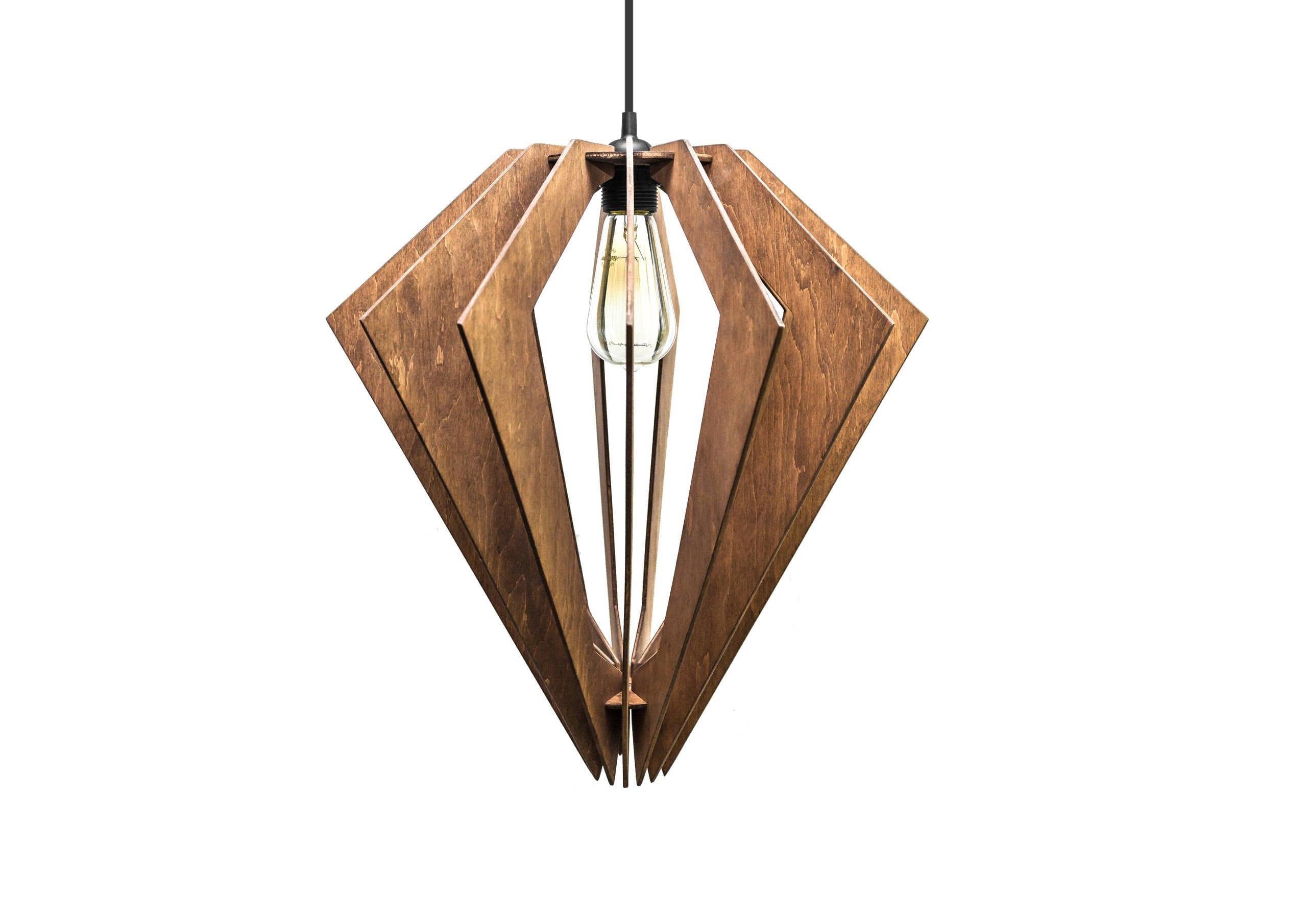 Pendant wood lighting dining room light fixture wooden ceiling for Wooden dining room light fixtures