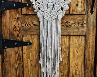 Small Driftwood Macrame Wall Hanging // boho // bohemian
