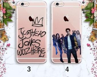 Riverdale Jughead iPhone case Clear case Samsung case iPhone 8 Сase Galaxy S8 Case iPhone X iPhone 7 Plus Case iPhone 6 Riverdale iphone