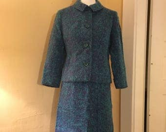 1960s Lord and Taylor Wool Suit - Irish Wool Skirt Suit