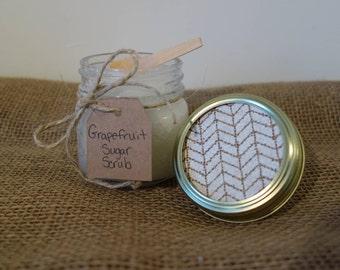 Grapefruit Sugar Scrub 8 oz