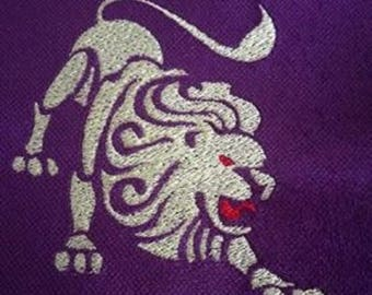 """Embroidery File """"Star Sign Leo"""""""