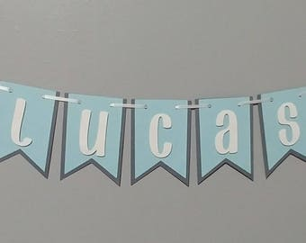 Hospital banner, Bassinet Banner for newborn, Baby Shower, Birth Announcement, Twinkle Twinkle Little Star, Star banner, Baby Boy Banner