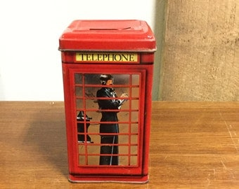 Lithographed Telephone Booth