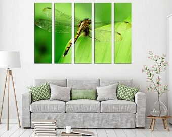 Dragonfly canvas print dragonfly wall art Decor canvas dragonfly Photo Canvas wall decor dragonfly Print canvas dragonfly Decor