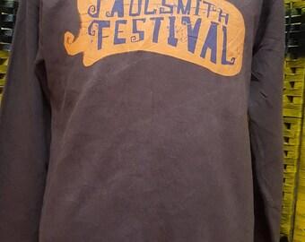 Vintage PAUL SMITH / paul smith festival / big logo  / Medium size sweatshirt (AL 44)