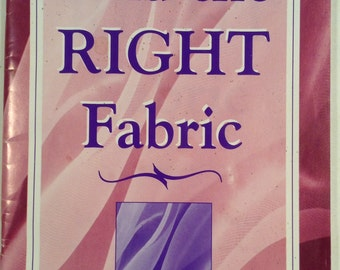 Find The Right Fabric Booklet by Julia Reidy Linger 48 Pages