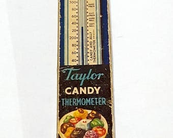 Vintage Taylor Candy Thermometer