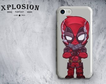 DeadPool Phone Case iPhone 8 iPhone 7 Plus Case iPhone 8 Plus iPhone 6S Movie Case iPhone 7 case iPhone 6 Case Galaxy S8 Case iPhone X Case