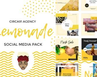 Lemonade Social Media Pack