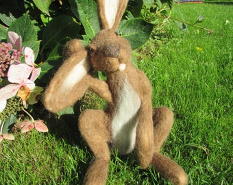 Henley Hare, Needle Felted