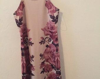 floral spagetti strap dress