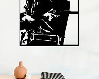 Clint Eastwood Decal Etsy - Cool vinyl decals