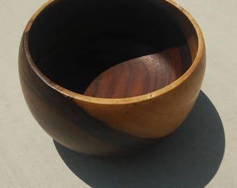 Vintage Narra Wood Bowl