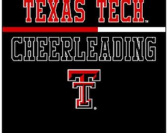 YOUTH Texas Tech Cheerleading Shirt