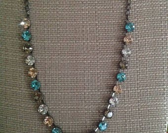 Hematite 22 cup 39ss Necklace