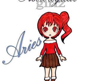 Astrological Girlz - Aries