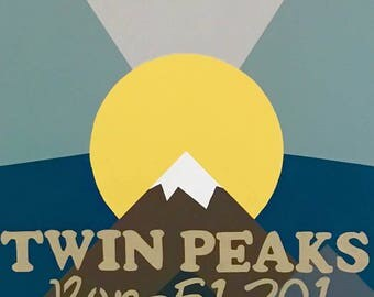Twin Peaks Show Banner