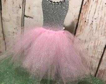 Pink Princess Ballerina Tutu Cake Pop Sticks (12)