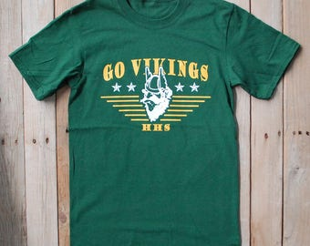 GO VIKINGS! Show your Viking Spirit! Green and Gold 92250