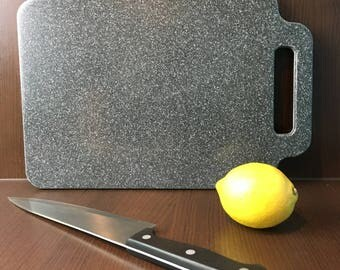 Corian Chopping Board Black With Silver Flecks Small