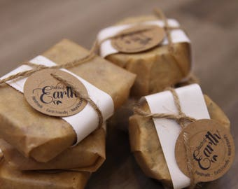 All Natural Handmade Soap Scrubs - 3 scents