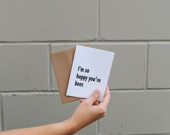 Hoppy Card