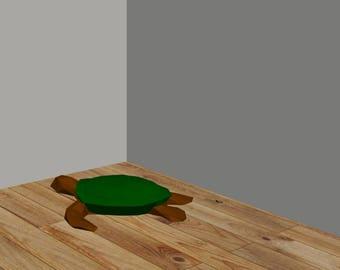 DIY Turtle 3D Paper