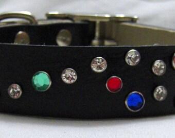 Handmade Leather Dog Collar - Baubles