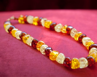 Amber (reconstituted) Necklace