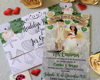 Invitación de Boda • Convites de Casamento • Wedding Invitations