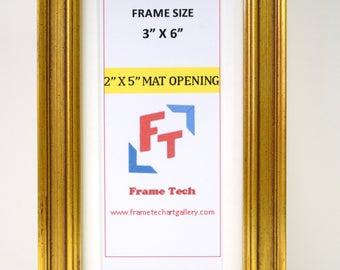 "2""x5"" Miniature Photo Frame"