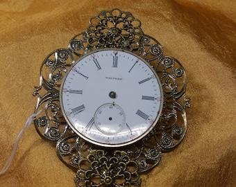 Elegant Steampunk Watch Pin