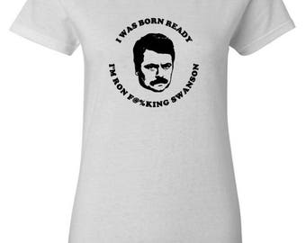 RON SWANSON T-Shirt-- Parks and Recreation
